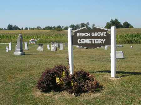 BEECH GROVE, CEMETERY - Darke County, Ohio   CEMETERY BEECH GROVE - Ohio Gravestone Photos