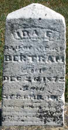 BERTRAM, IDA E. - Darke County, Ohio | IDA E. BERTRAM - Ohio Gravestone Photos