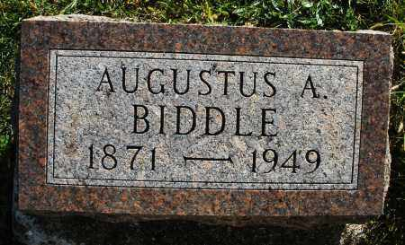 BIDDLE, AUGUSTUS A. - Darke County, Ohio | AUGUSTUS A. BIDDLE - Ohio Gravestone Photos