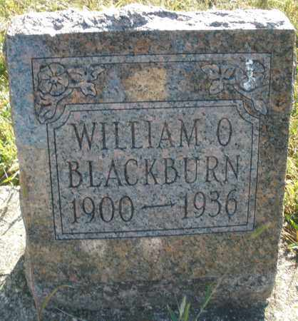 BLACKBURN, WILLIAM O. - Darke County, Ohio | WILLIAM O. BLACKBURN - Ohio Gravestone Photos