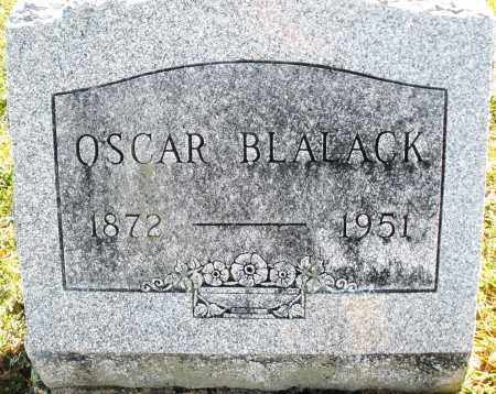 BLALACK, OSCAR - Darke County, Ohio | OSCAR BLALACK - Ohio Gravestone Photos
