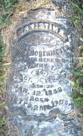 BOBENMEYER, CHRISTINA - Darke County, Ohio | CHRISTINA BOBENMEYER - Ohio Gravestone Photos