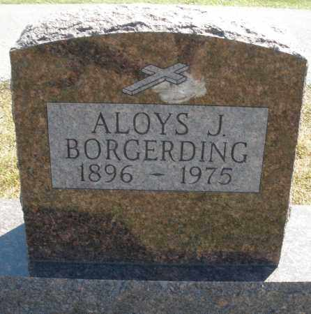 BORGERDING, ALOYS J. - Darke County, Ohio | ALOYS J. BORGERDING - Ohio Gravestone Photos