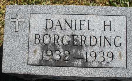BORGERDING, DANIEL H. - Darke County, Ohio | DANIEL H. BORGERDING - Ohio Gravestone Photos