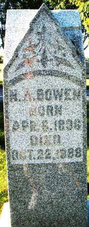 BOWEN, H.A. - Darke County, Ohio | H.A. BOWEN - Ohio Gravestone Photos
