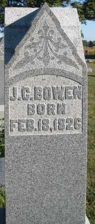 BOWEN, J.C. - Darke County, Ohio | J.C. BOWEN - Ohio Gravestone Photos