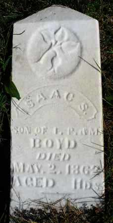 BOYD, ISAAC S. - Darke County, Ohio | ISAAC S. BOYD - Ohio Gravestone Photos