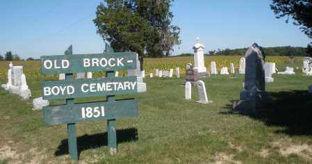 BROCK-BOYD, CEMETERY - Darke County, Ohio   CEMETERY BROCK-BOYD - Ohio Gravestone Photos