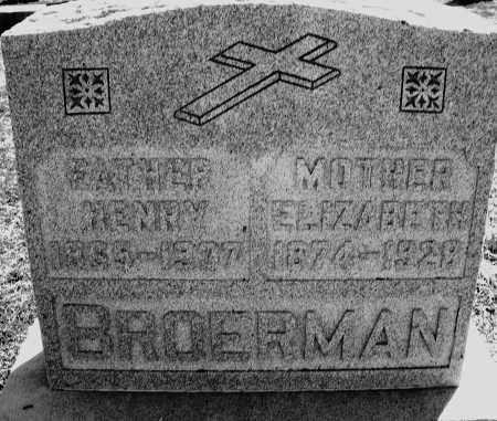 BROERMAN, HENRY - Darke County, Ohio | HENRY BROERMAN - Ohio Gravestone Photos