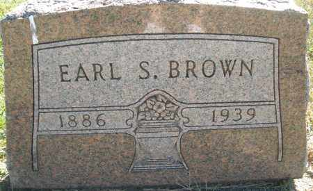 BROWN, EARL S. - Darke County, Ohio | EARL S. BROWN - Ohio Gravestone Photos