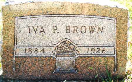 BROWN, IVA P. - Darke County, Ohio | IVA P. BROWN - Ohio Gravestone Photos