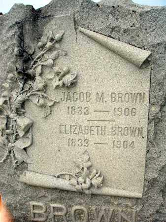 EDDINGTON BROWN, ELIZABETH - Darke County, Ohio | ELIZABETH EDDINGTON BROWN - Ohio Gravestone Photos