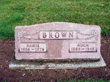 ALLREAD BROWN, MAMIE - Darke County, Ohio | MAMIE ALLREAD BROWN - Ohio Gravestone Photos