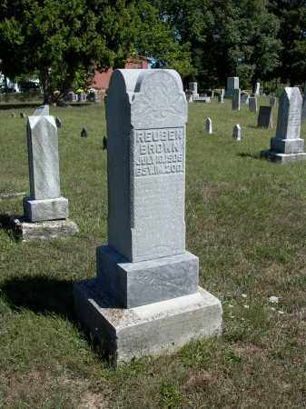BROWN, REUBEN - Darke County, Ohio | REUBEN BROWN - Ohio Gravestone Photos