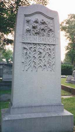 BRUMBAUGH, HEADSTONE - Darke County, Ohio | HEADSTONE BRUMBAUGH - Ohio Gravestone Photos
