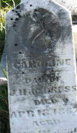 BRUSS, CAROLINE - Darke County, Ohio | CAROLINE BRUSS - Ohio Gravestone Photos