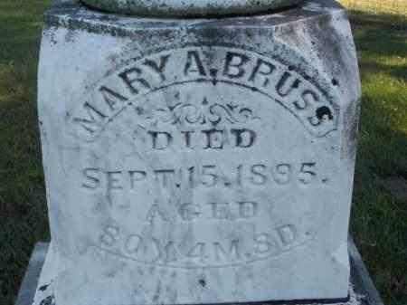 BRUSS, MARY A. - Darke County, Ohio | MARY A. BRUSS - Ohio Gravestone Photos