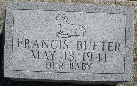 BUETER, FRANCIS - Darke County, Ohio | FRANCIS BUETER - Ohio Gravestone Photos