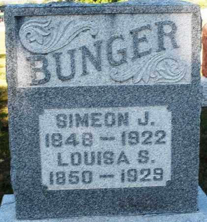 BUNGER, LOUISA S. - Darke County, Ohio | LOUISA S. BUNGER - Ohio Gravestone Photos