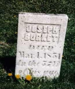 BURKET, JOSEPH - Darke County, Ohio | JOSEPH BURKET - Ohio Gravestone Photos