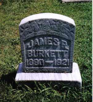 BURKETT, JAMES R. - Darke County, Ohio | JAMES R. BURKETT - Ohio Gravestone Photos