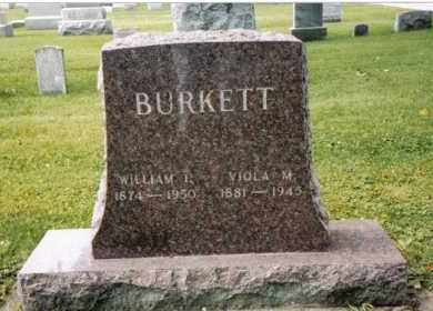 BURKETT, WILLIAM I. - Darke County, Ohio | WILLIAM I. BURKETT - Ohio Gravestone Photos