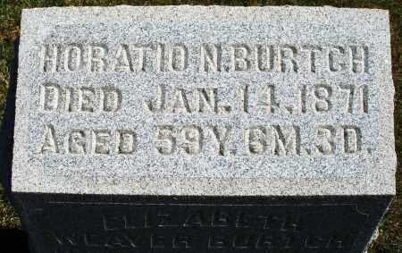 BURTCH, HORATIO N. - Darke County, Ohio | HORATIO N. BURTCH - Ohio Gravestone Photos