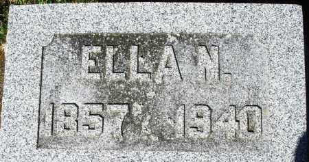 BUSSARD, ELLA N. - Darke County, Ohio | ELLA N. BUSSARD - Ohio Gravestone Photos