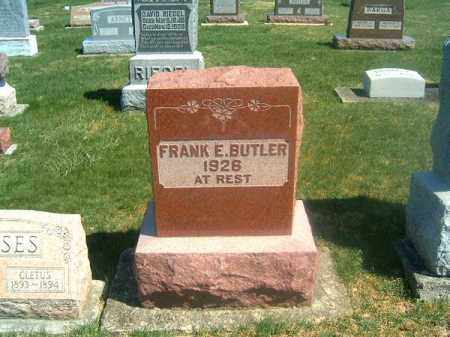E BUTLER, FRANK - Darke County, Ohio | FRANK E BUTLER - Ohio Gravestone Photos