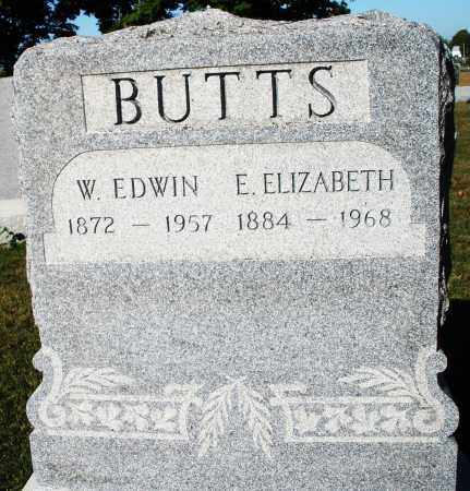 BUTTS, W.EDWIN - Darke County, Ohio | W.EDWIN BUTTS - Ohio Gravestone Photos