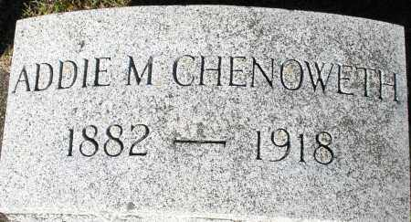 CHENOWETH, ADDIE M. - Darke County, Ohio | ADDIE M. CHENOWETH - Ohio Gravestone Photos