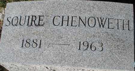CHENOWETH, SQUIRE - Darke County, Ohio | SQUIRE CHENOWETH - Ohio Gravestone Photos