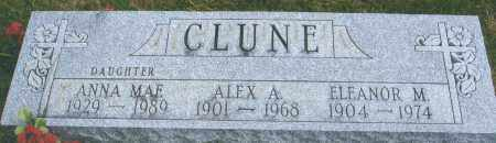CLUNE, ELEANOR MARGARET - Darke County, Ohio | ELEANOR MARGARET CLUNE - Ohio Gravestone Photos