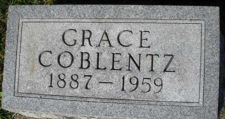 COBLENTZ, GRACE - Darke County, Ohio | GRACE COBLENTZ - Ohio Gravestone Photos