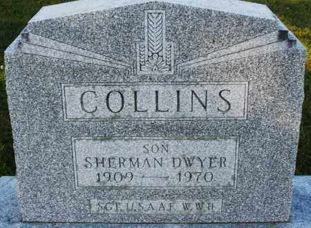 COLLINS, SHERMAN DWYER - Darke County, Ohio | SHERMAN DWYER COLLINS - Ohio Gravestone Photos