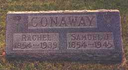 CONAWAY, RACHEL B. - Darke County, Ohio | RACHEL B. CONAWAY - Ohio Gravestone Photos
