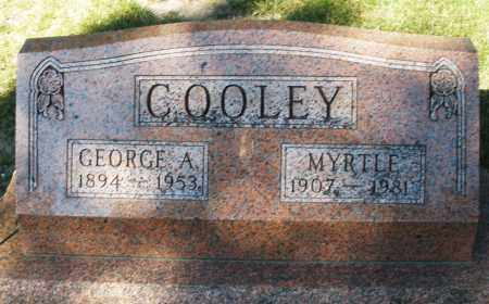 COOLEY, GEORGE A. - Darke County, Ohio | GEORGE A. COOLEY - Ohio Gravestone Photos