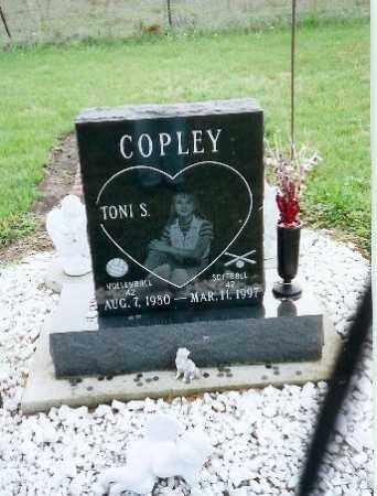 COPLEY, TONI S - Darke County, Ohio | TONI S COPLEY - Ohio Gravestone Photos
