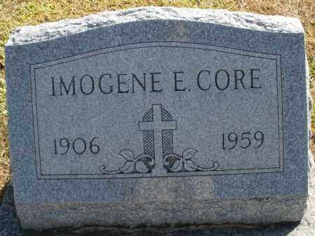 CORE, IMOGENE E. - Darke County, Ohio | IMOGENE E. CORE - Ohio Gravestone Photos