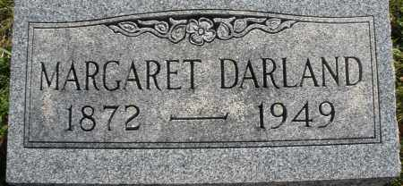 DARLAND, MARGARET - Darke County, Ohio | MARGARET DARLAND - Ohio Gravestone Photos