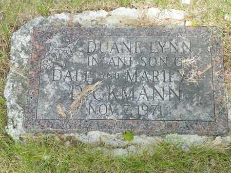 DICKMAN, DUANE LYNN - Darke County, Ohio | DUANE LYNN DICKMAN - Ohio Gravestone Photos