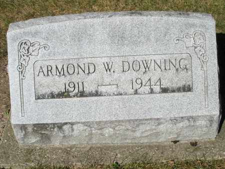 DOWNING, ARMOND W. - Darke County, Ohio | ARMOND W. DOWNING - Ohio Gravestone Photos