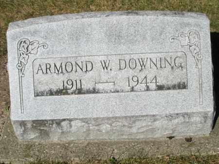DOWNING, ARMOND W. - Darke County, Ohio   ARMOND W. DOWNING - Ohio Gravestone Photos