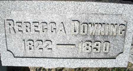 DOWNING, REBECCA - Darke County, Ohio | REBECCA DOWNING - Ohio Gravestone Photos