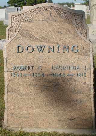 DOWNING, LAURINDA J. - Darke County, Ohio | LAURINDA J. DOWNING - Ohio Gravestone Photos