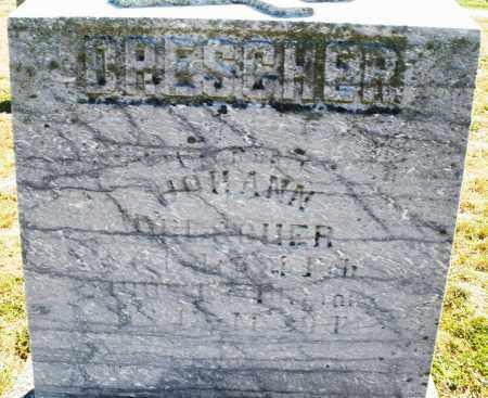 DRESCHER, JOHANN - Darke County, Ohio   JOHANN DRESCHER - Ohio Gravestone Photos