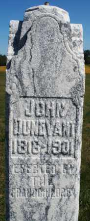 DUNEVANT, JOHN - Darke County, Ohio | JOHN DUNEVANT - Ohio Gravestone Photos