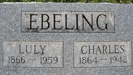 EBELING, LULY - Darke County, Ohio | LULY EBELING - Ohio Gravestone Photos