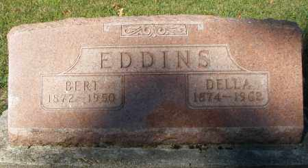 EDDINS, BERT - Darke County, Ohio | BERT EDDINS - Ohio Gravestone Photos