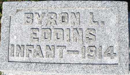 EDDINS, BYRON L. - Darke County, Ohio | BYRON L. EDDINS - Ohio Gravestone Photos